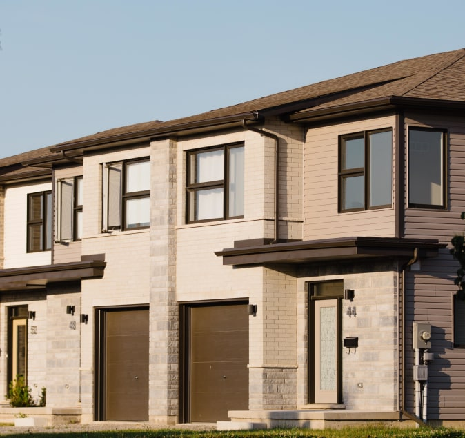 Multi-Unit and Subdivision builds by Cairnwood Homes in Niagara
